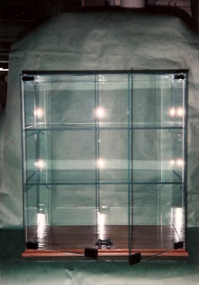 Display Shelves For Collectibles >> Commercial Show/Display Cases in NH & MA - Northlite Glass ...