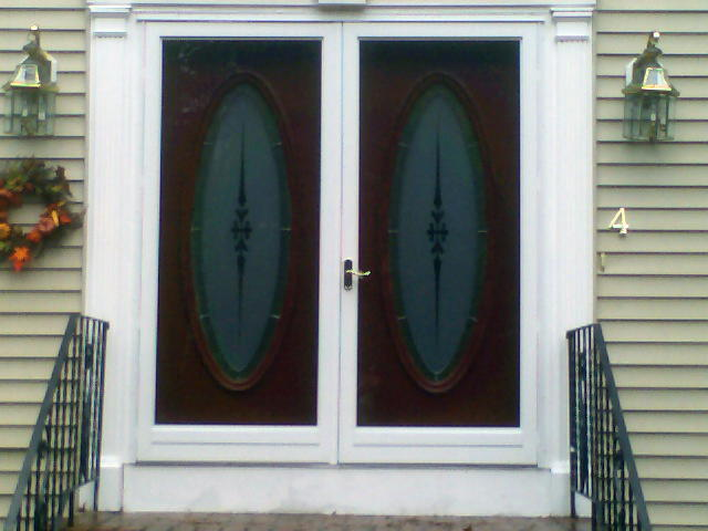 Residential storm windows doors in nh ma northlite for Storm doors for french doors
