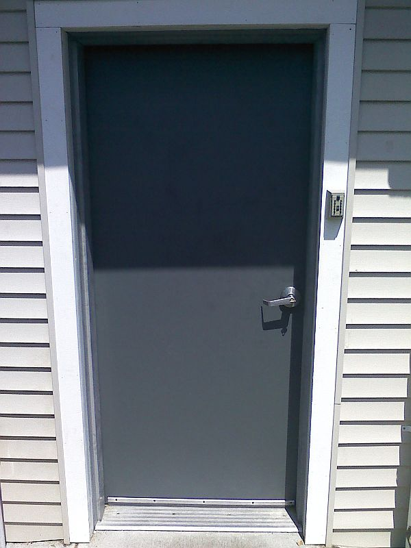 Steel Doors & Commercial Steel Doors in NH u0026 MA - Northlite Glass u0026 Mirror - 03038