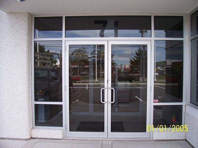 Commercial aluminum storefronts entrance in nh ma for Commercial entry doors